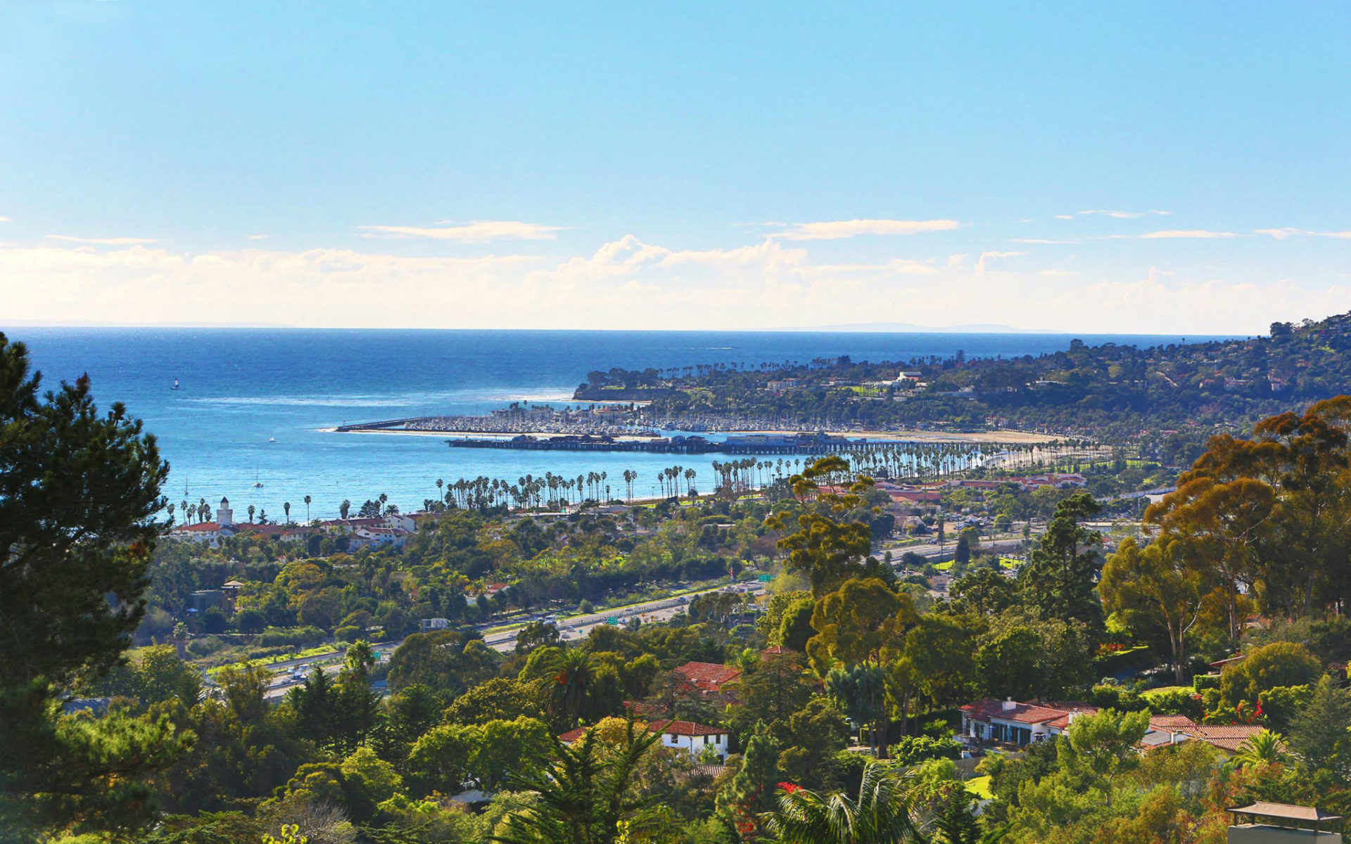 A panorama of Santa Barbara